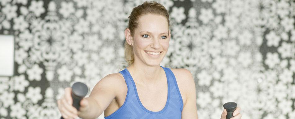 Annika Pohl im Kameha Spa