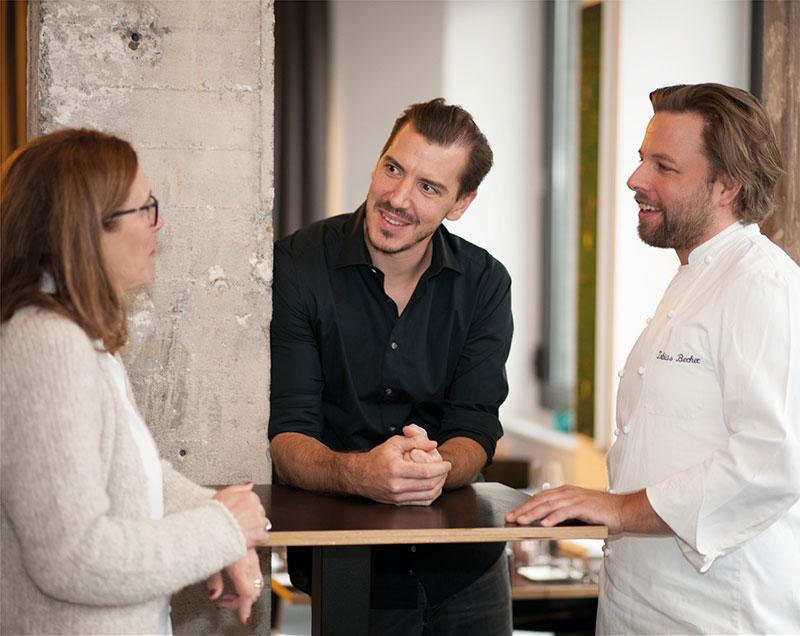 Restaurant maibeck Jan Cornelius Maier und Tobias Becker