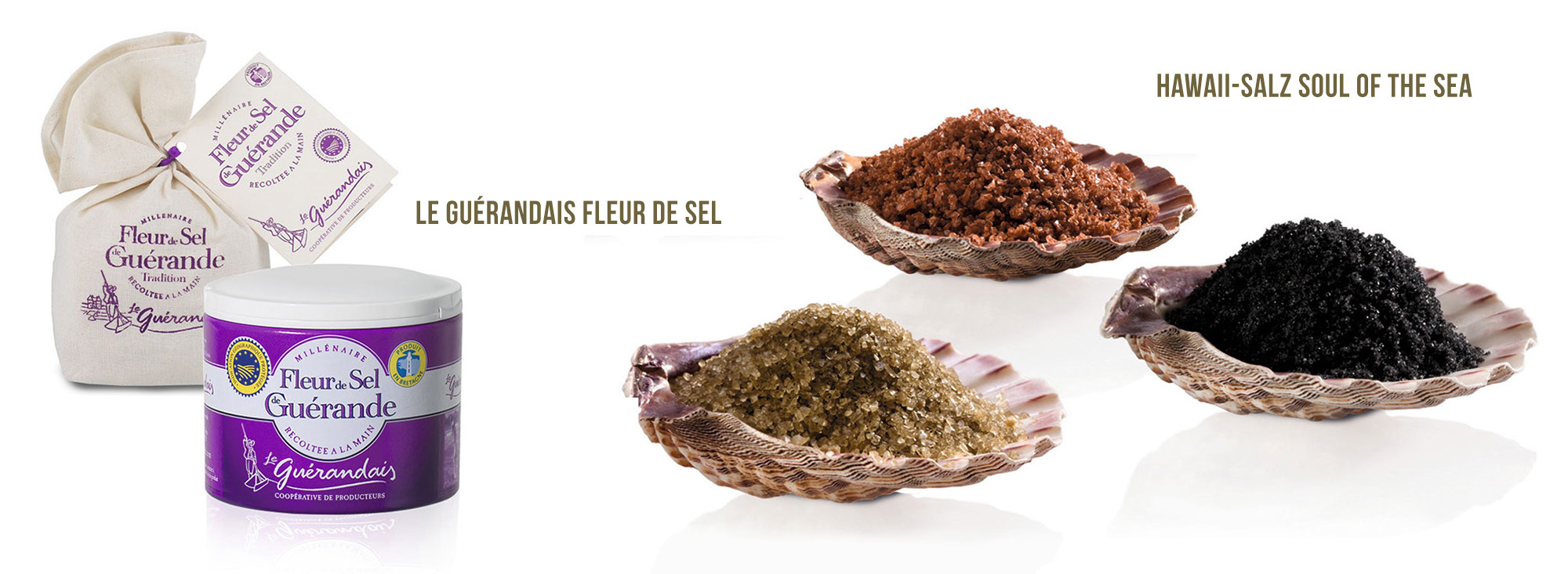 Le Guérandais Fleur de Sel / Hawaii-Salz Soul of the Sea