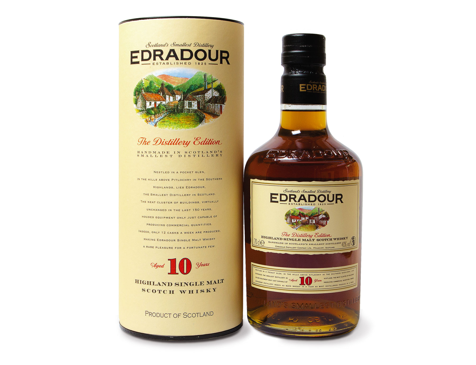 Edradour whiskey