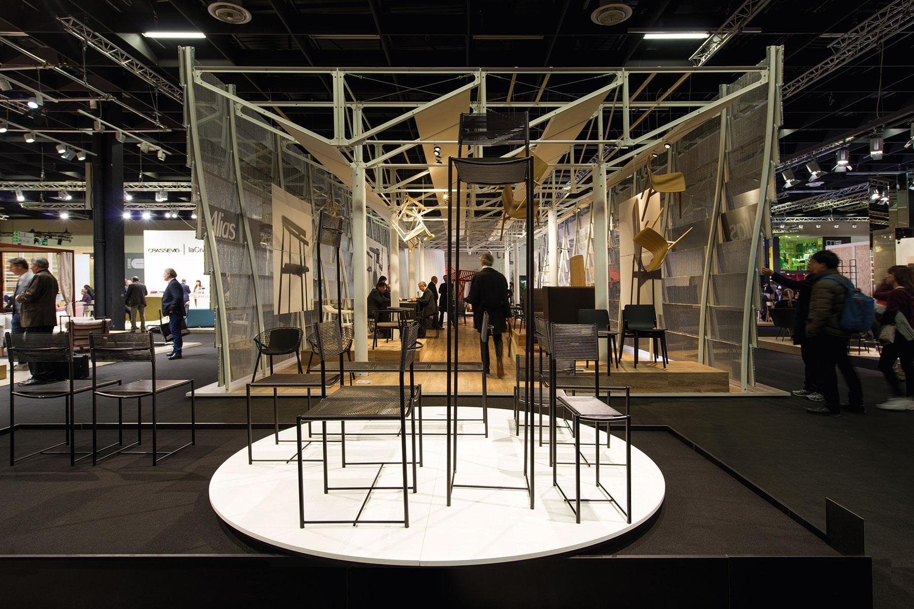Die imm cologne 2016 und die neue Leichtigkeit bei Stühlen, Tischen & Co ...