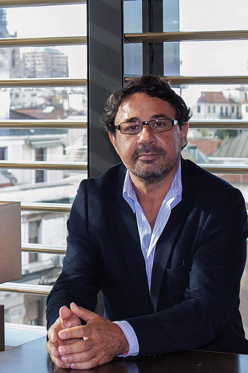 Sylvain Orebi, CEO von Kusmi Tea