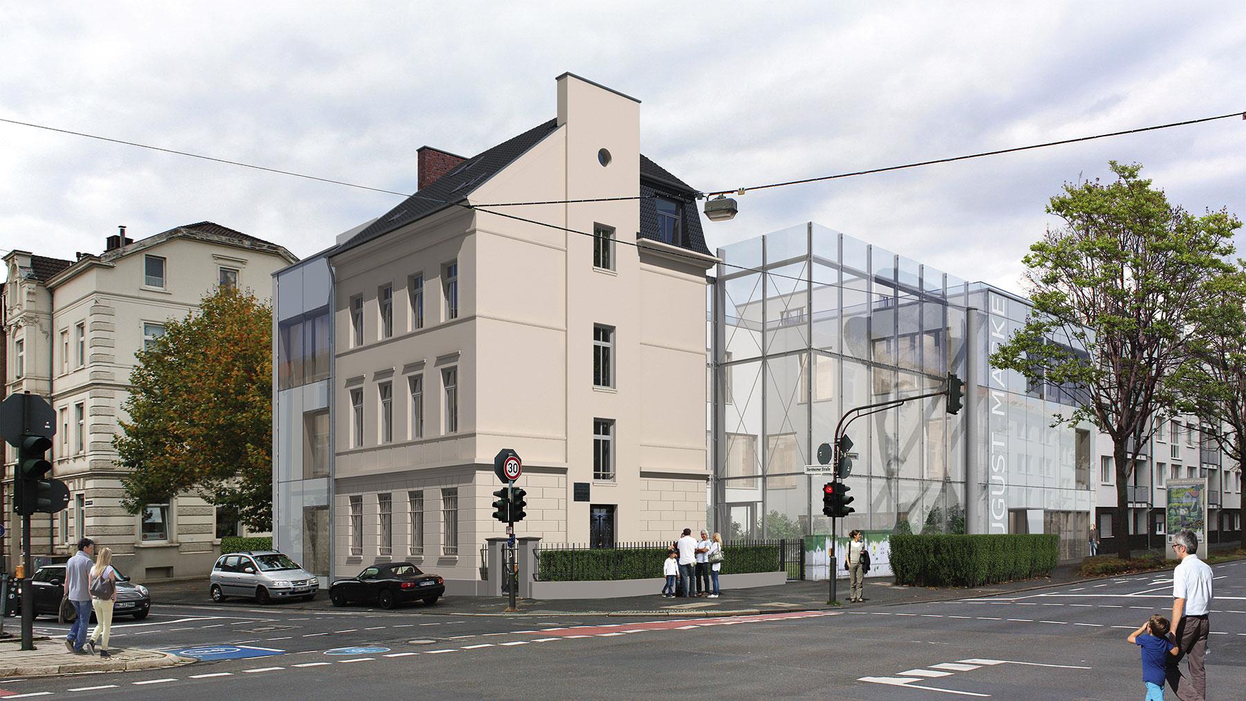 Künstlerhaus mit Erweiterungsbau