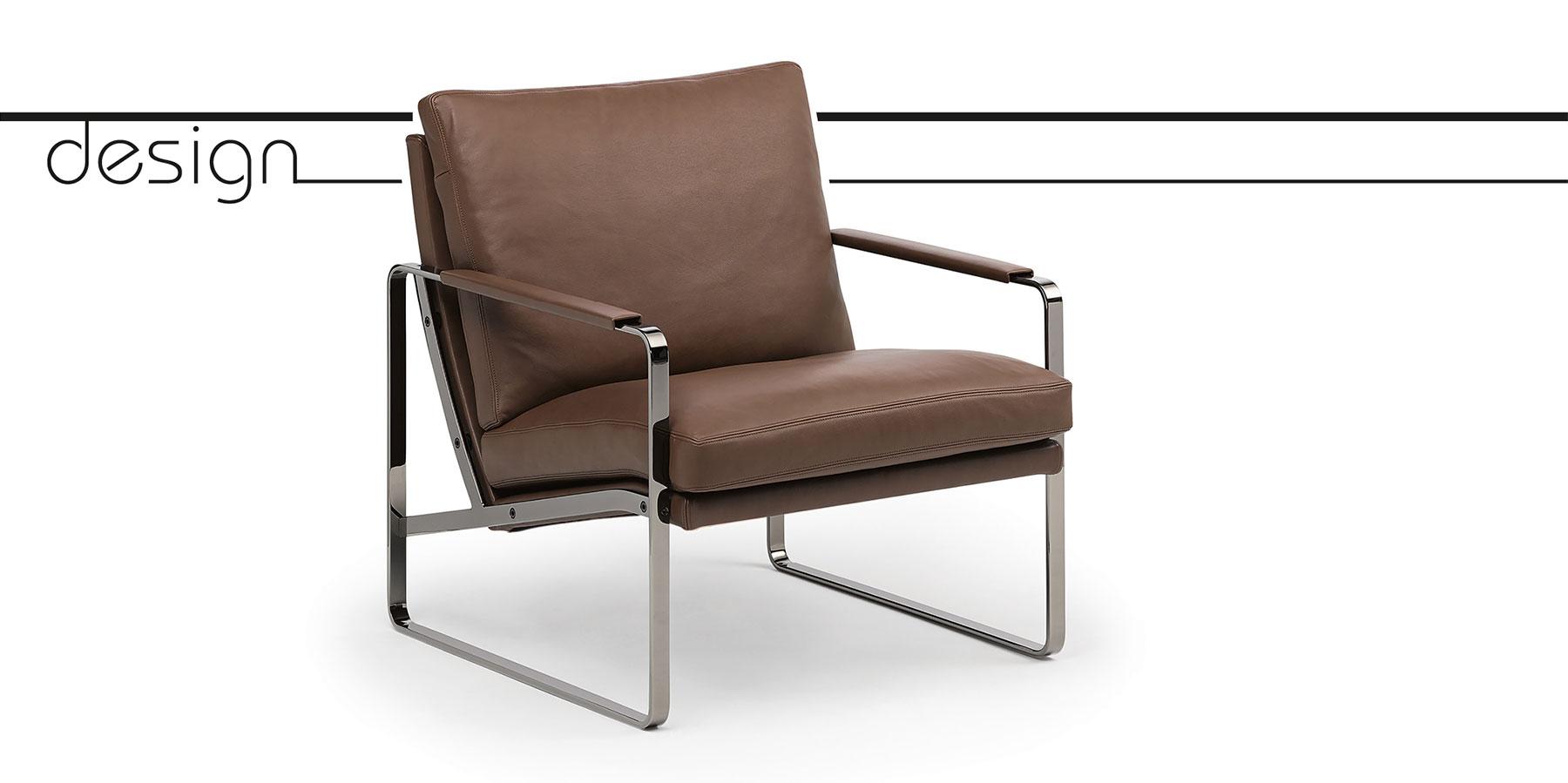 Fabricius erzählt als echter Klassiker Möbelgeschichte: der Conversation Chair, 1972 von Preben Fabricius entworfen.