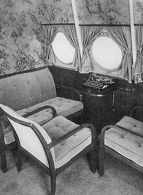 """Das weltweit erste Dornier-Großraumfl ugzeug Do X wurde 1929 komplett mit den leichten """"Prodomo""""-Modellen ausgestattet."""