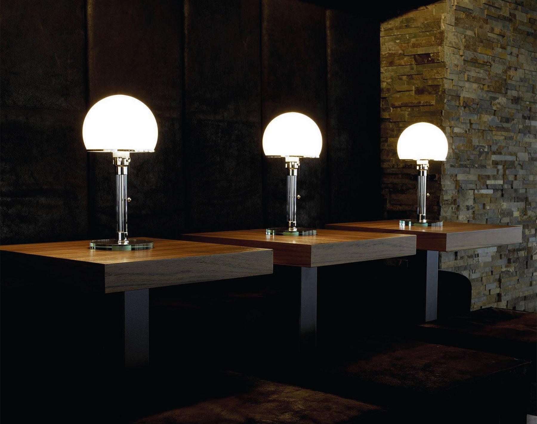 Zeitloser Design-Klassiker: Die Bauhaus-Leuchte von Wagenfeld