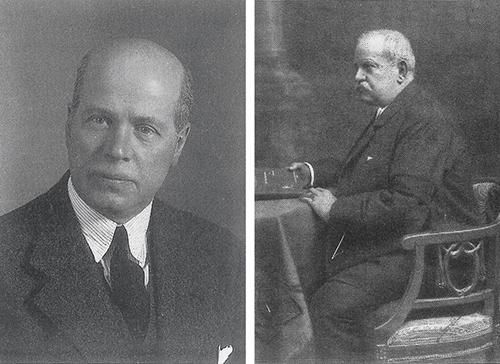 Walter Knoll (1876 – 1971) // Wilhelm Knoll (1839 – 1907), der Urvater der Knoll-Dynastie