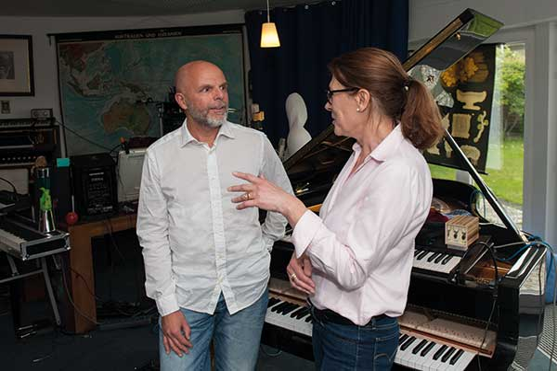 Johannes Kuchta, Jazzmusiker und Neurochirung aus Bonn