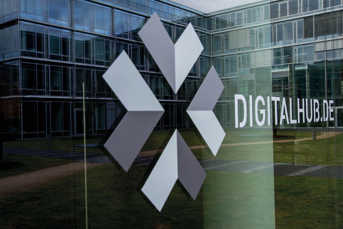 Der Digital Hub Region Bonn im Bonner Bonner, der sich zu einem Hotspot für Innovation entwickelt hat.