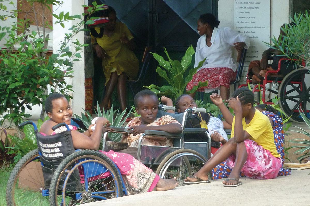Tumaini Waisenhaus Förderverein. Die Frauen von Shanzu