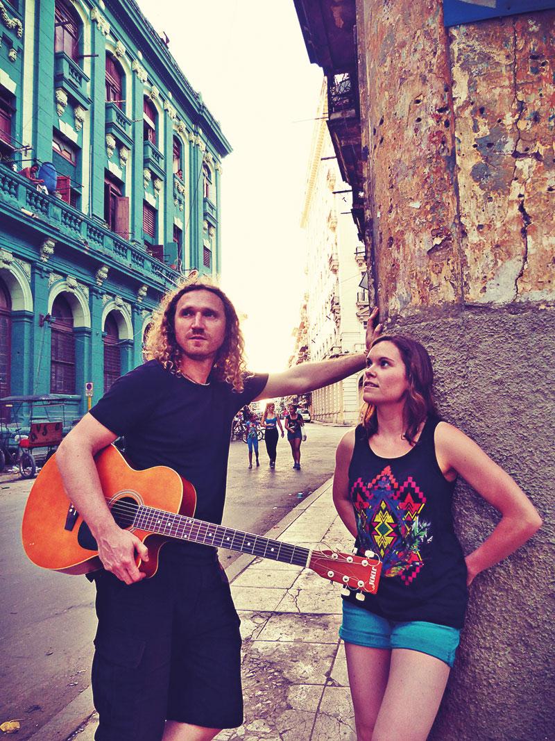Marion Lenfant-Preus und Alexander Sobocinski bilden seit 2012 das Duo Marion & Sobo