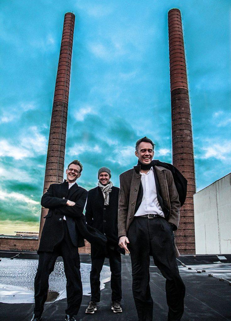 (v. l.) Michael Otto, Wolfgang Otto und Stephan Otto haben ihre Vision erfolgreich realisiert.