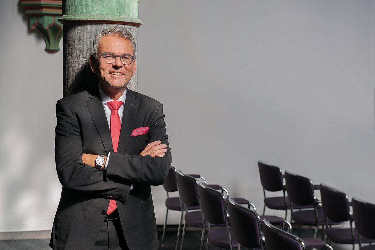 Uwe Lüdemann, Gescäftsführer Nova Vita Residenz im Leoninum Bonn