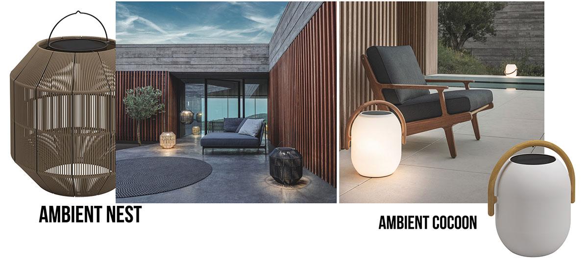 Gloster_Ambient_ schnurlose kabellose Leuchten