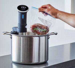 """Küchengeräte: """"Precision Cooker"""" von Anova ist ein Sous-vide-Wassererhitzer"""