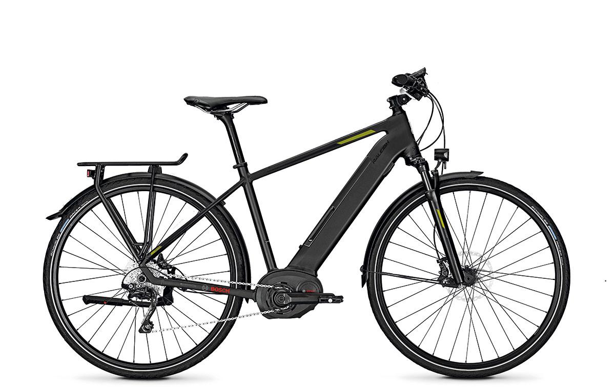 Das Modell KENT 10 von Raleigh ist ausgestattet mit integrierter Batterie, Bosch Performance CX Motor und Bosch Powertube Akku mit 500 Wattstunden. www.raleigh-bikes.de