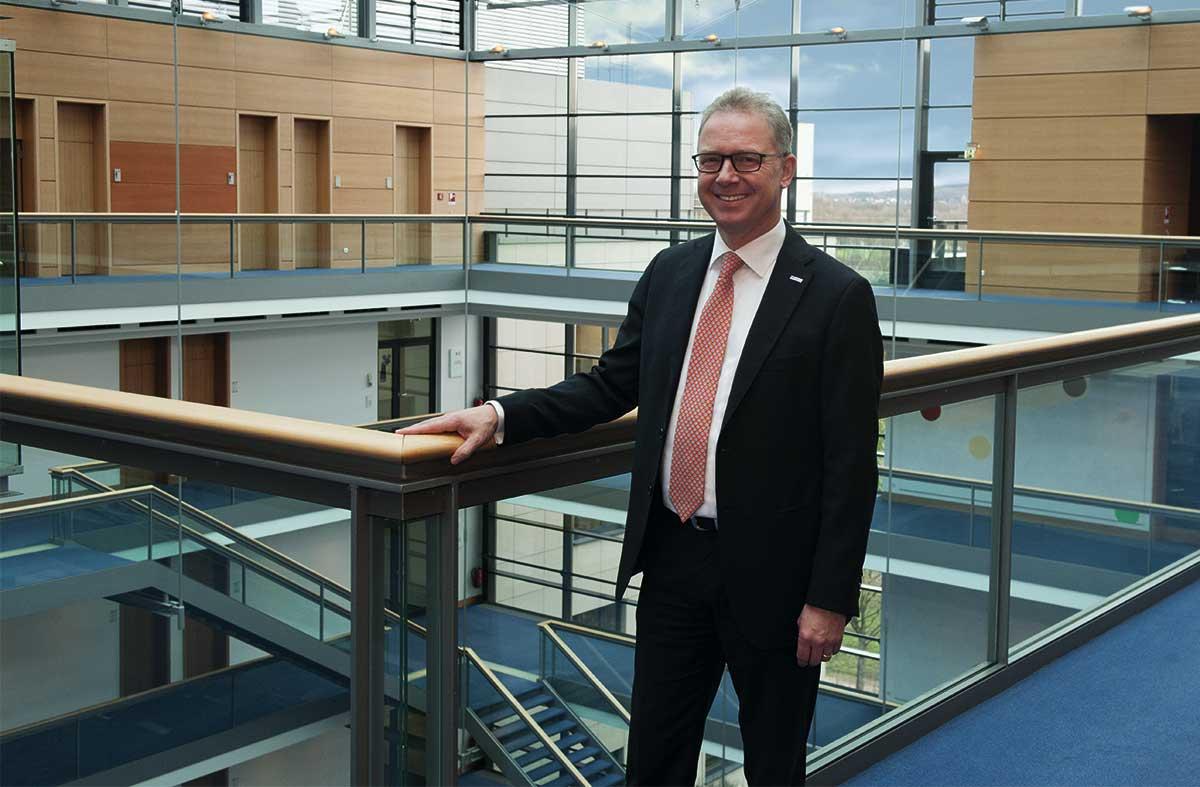 Jürgen Pütz, Vorstandsvorsitzender der Volksbank Köln Bonn eG