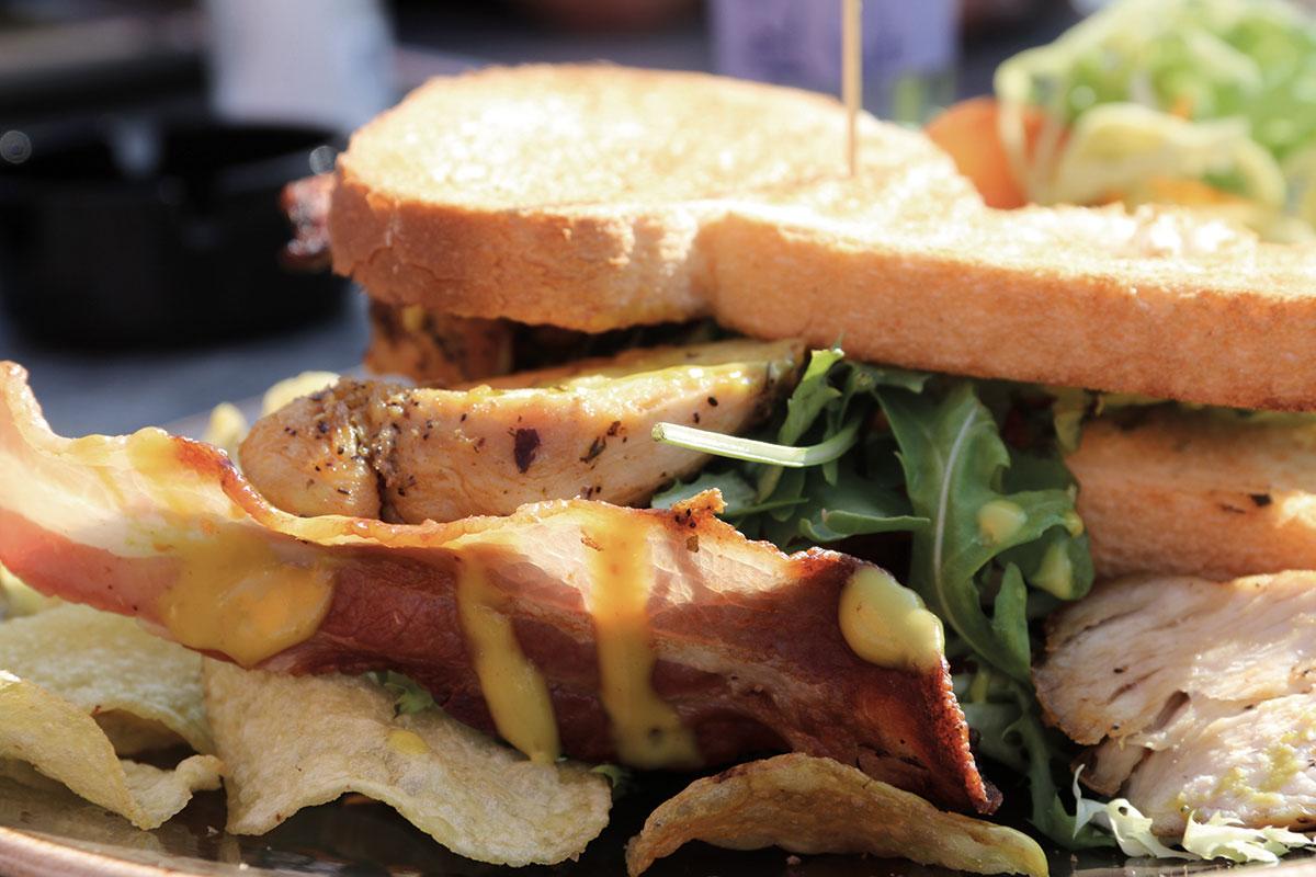 Sandwich Clubsandwich