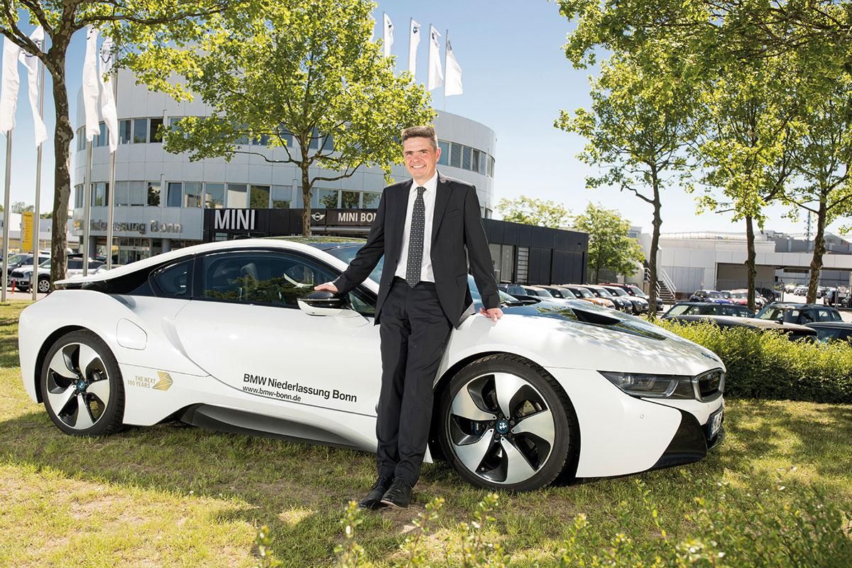 Ulrich Stephan Verkaufsleiter von BMW Niederlassung Bonn