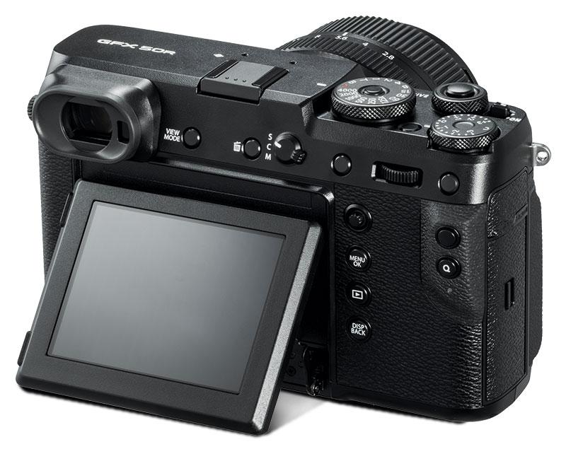 GFX 50R – die spiegellose Mittelformatkamera von Fujifilm ist ideal für das gehobene Amateursegment.