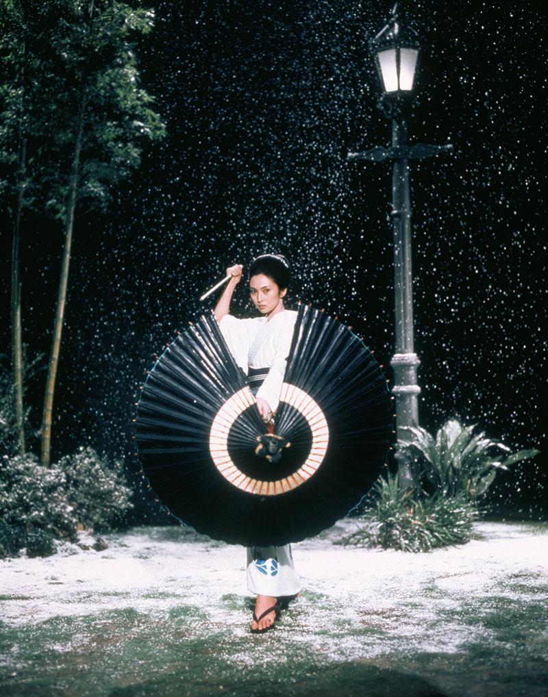 Lady Snowblood. Yuki (Meiko Kaji) © Rapid Eye Movies HE GmbH