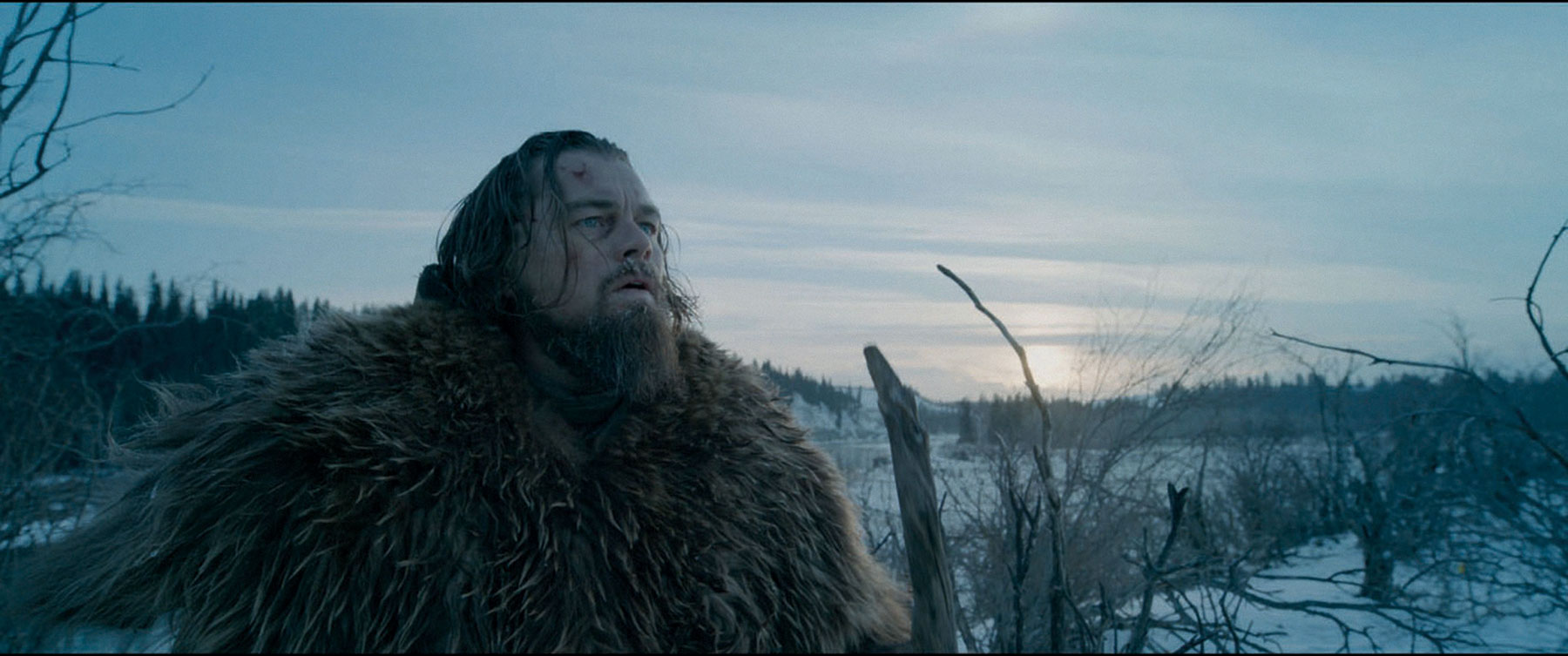 The Revenant. Hugh Glass (Leonardo DiCaprio) © 20th Century Fox Home Entertainment – Blu-ray