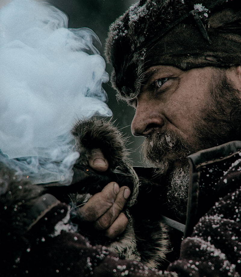 The Revenant. John Fitzgerald (Tom Hardy) © 20th Century Fox Home Entertainment – Blu-ray