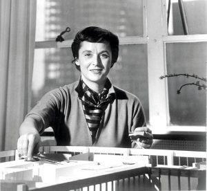Florence Knoll-Bassett um 1958