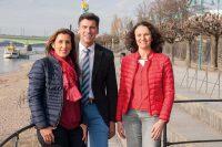 V .l. n. r.: Alexandra Roth (Geschäftsführung) , Dr. Felix Roth (ärztliche Leitung), Dr. Claudia Inhetvin-Hutter (ärztliche Leitung)