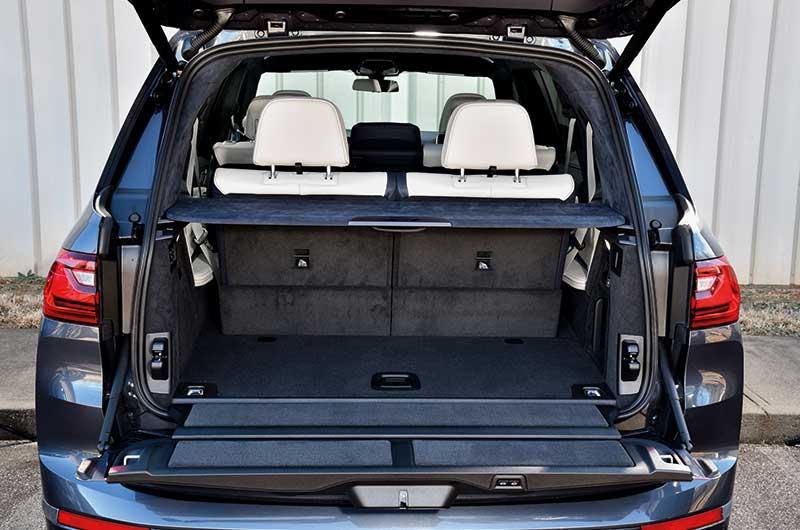 BMW-X7-SUV-Kofferraum
