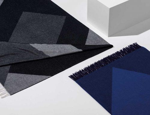 Decken und Tücher aus Merino und Kashmir von Catharina Mende