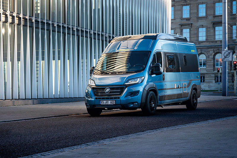 HYMER Blue Evolution