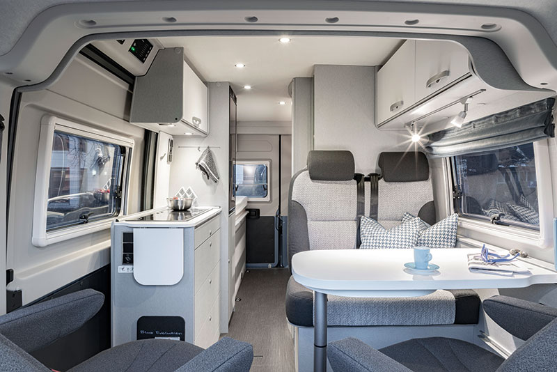 HYMER Blue Evolution Innen