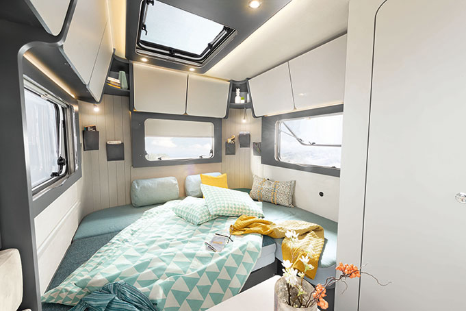 Dethleffs Caravan Coco Bett
