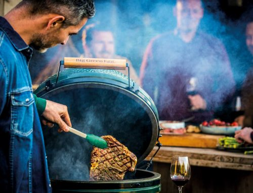 Heiße Öfen: Kamado-Grills