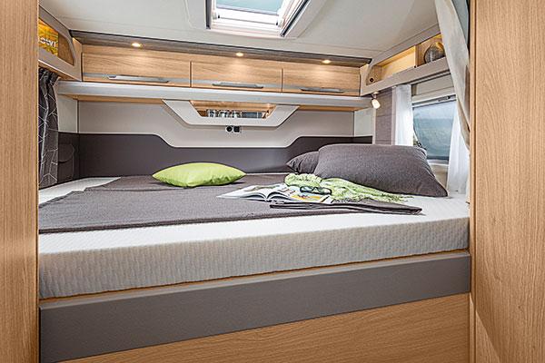 Wohnmobil Kanuss Tabbert SKY 1 Bett