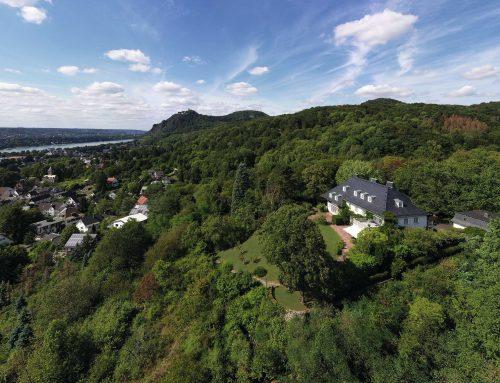Villa Heckenfels – ein weißer Solitär hoch über Bad Honnef