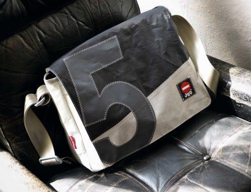 Upcycling: Taschen aus gebrauchtem Segeltuch