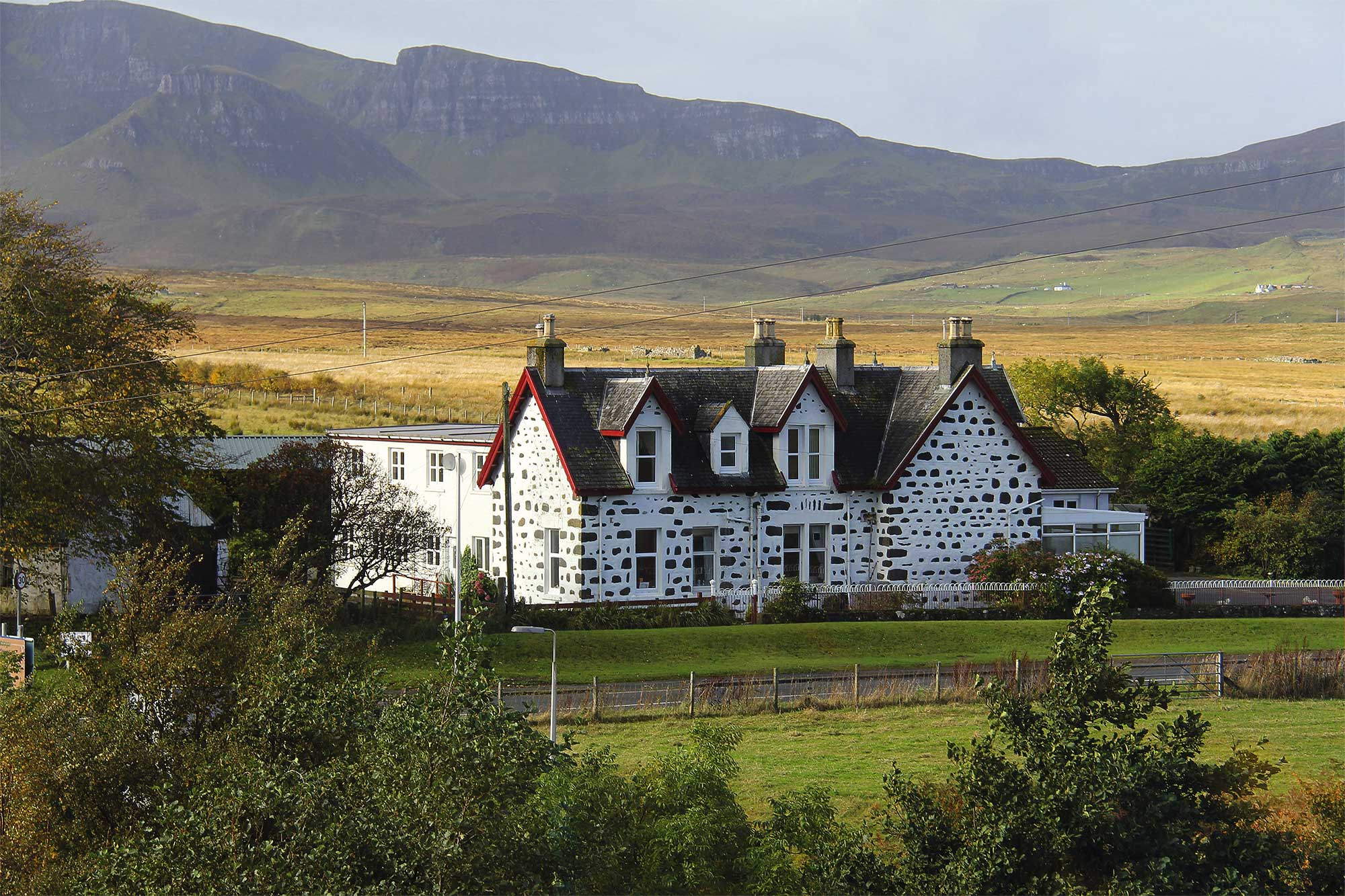 Landhaus Schottland