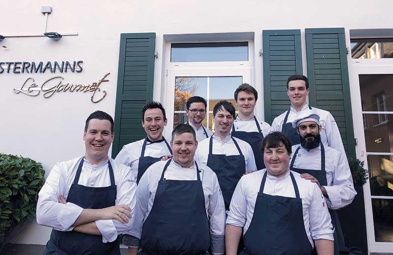 Teamfoto_Restaurant_Le_Gourmet
