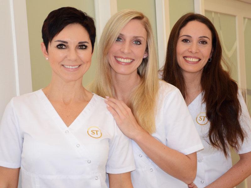 Das Dr. Dr. Stein Tveten cosmetic studio Team