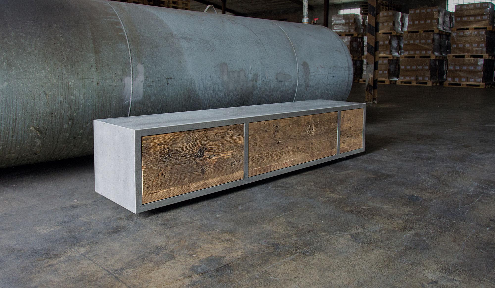 Betonmöbel, Sideboard