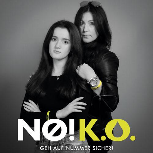 no ko kampagne Christine Brouwers und Tochter Leonie