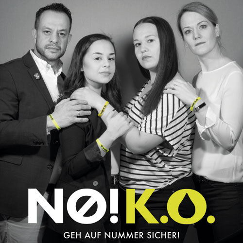 no ko kampagne Richard, Anne, Lena Recker und Stephanie Slania-Recker