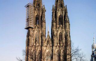 Köln, Dom, Gesamtansicht, Ansicht von Westen © Hohe Domkirche Köln, Dombauhütte; Foto: Jennifer Rumbach