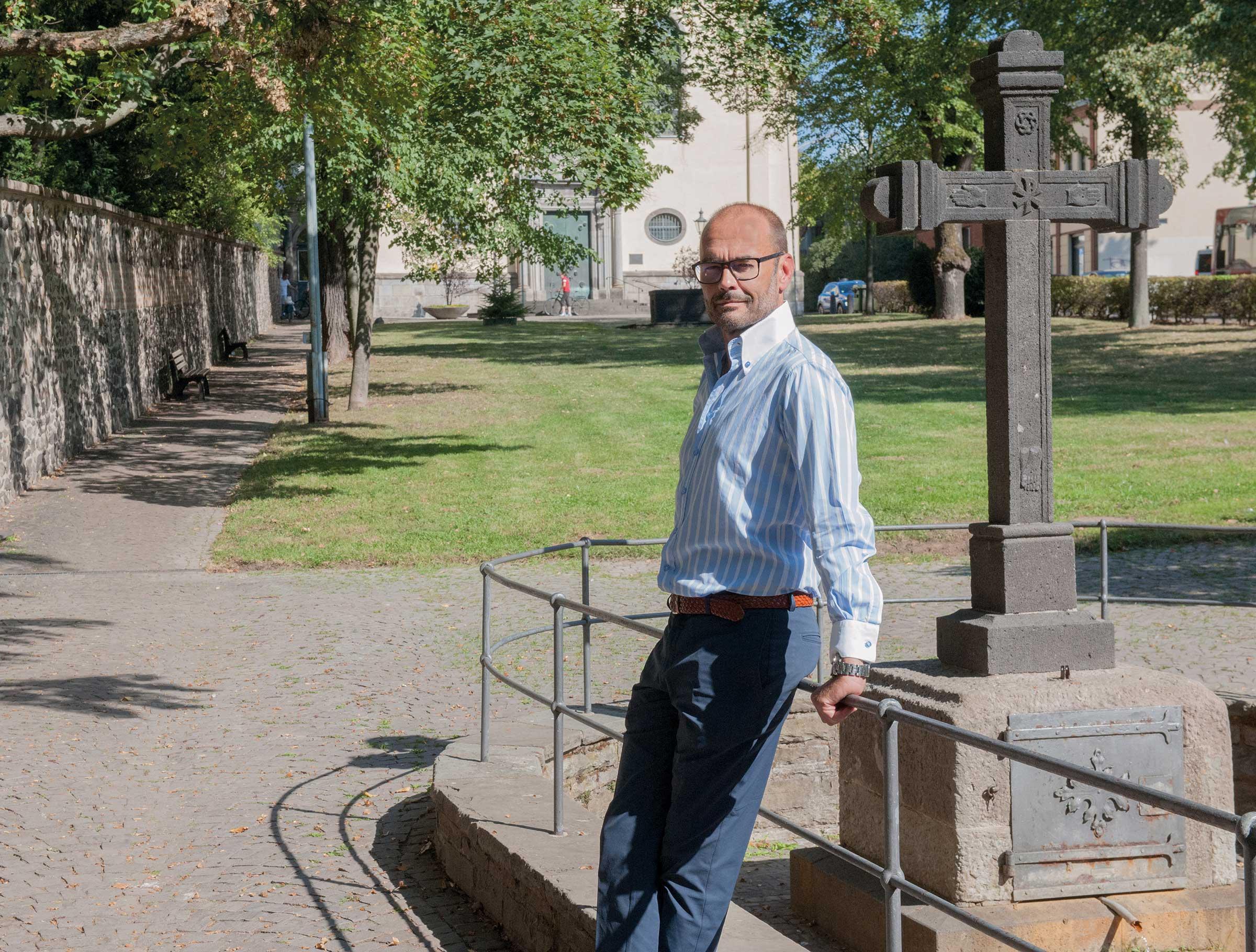 Markus Lentzen von Lentzen Garten- und Landschaftsbau GmbH