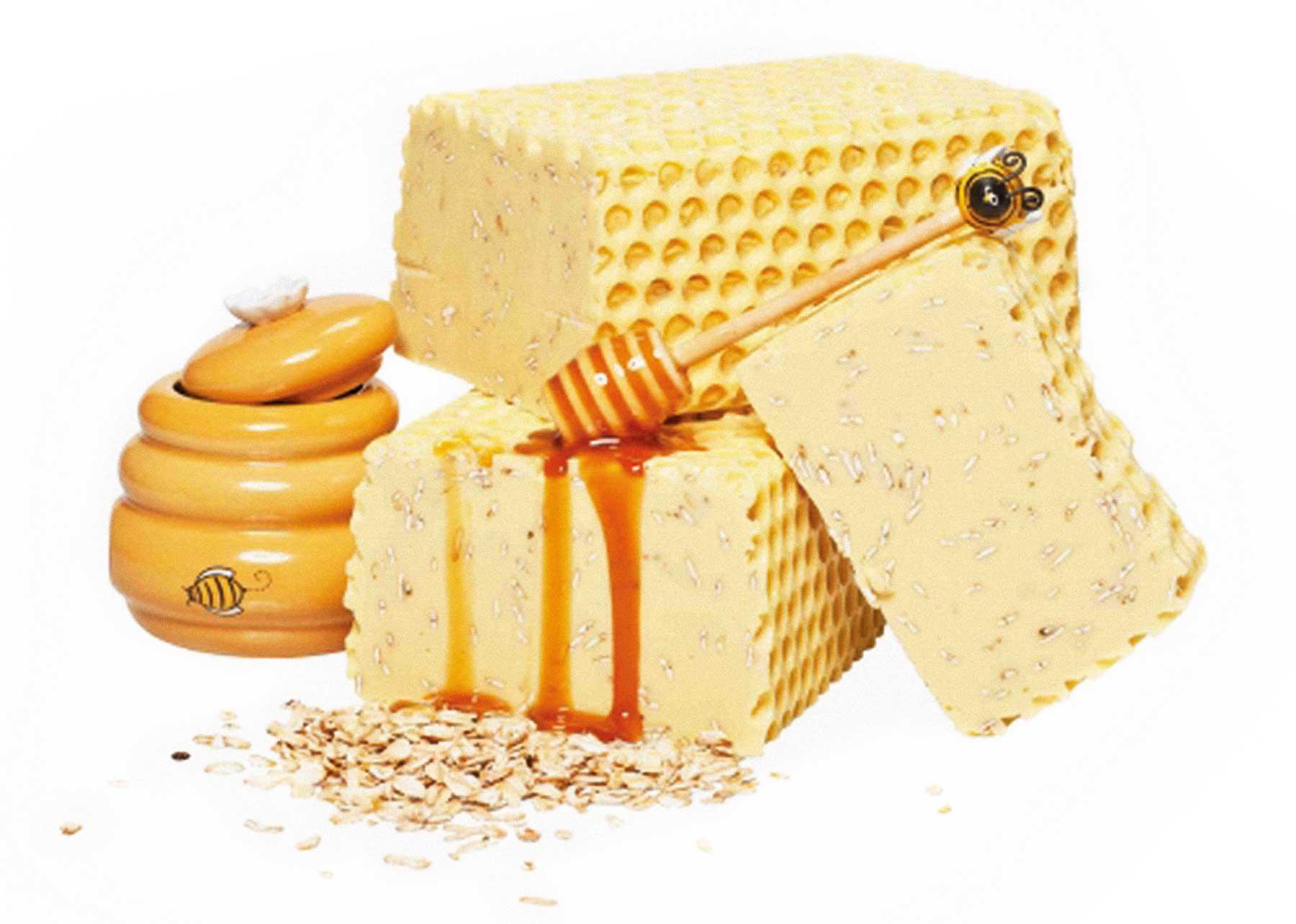 Wilde Seife Honigmilch Die Seifenhexe