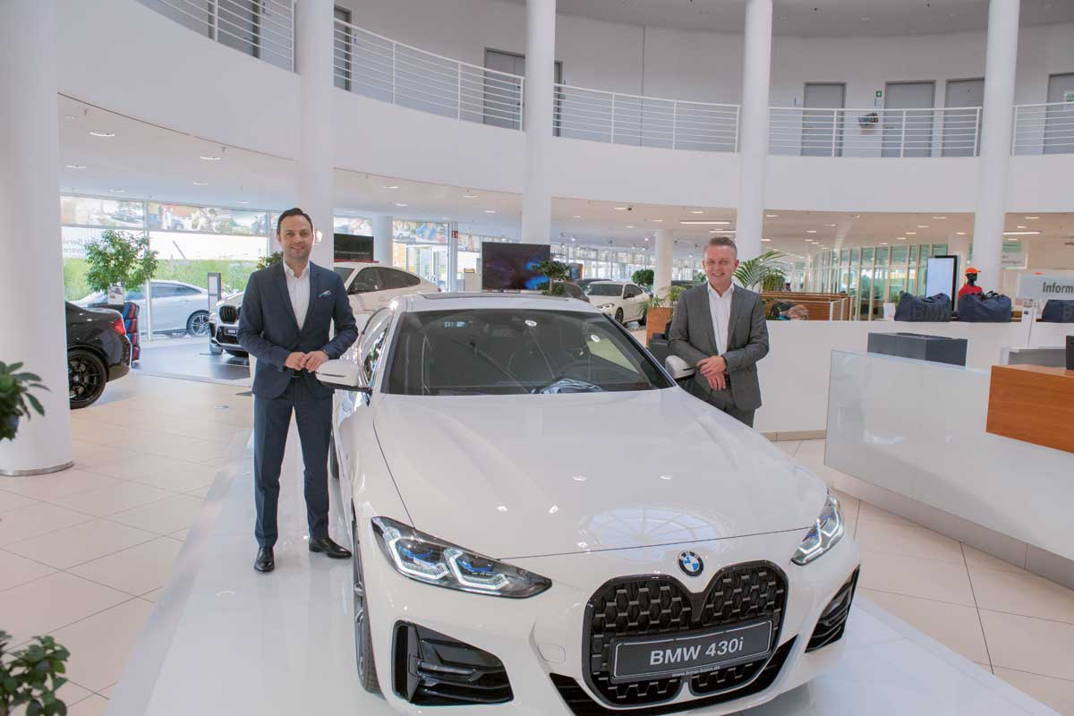 Das neue Powerteam in Bonn: Marc Schneider (li.) und Roland Theiss