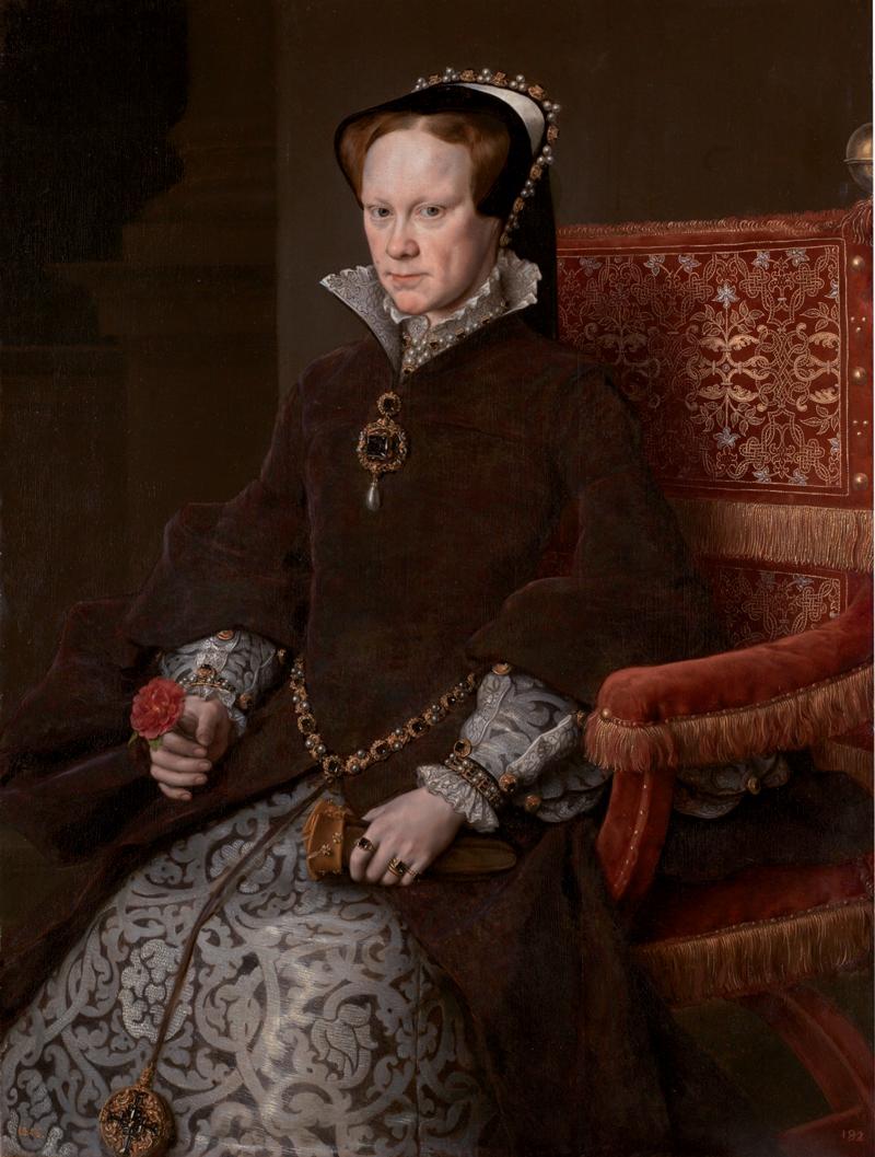 © MUSEO NACIONAL DEL PRADO, Königin Maria I. (Porträt von Anthonis Mor, 1554)