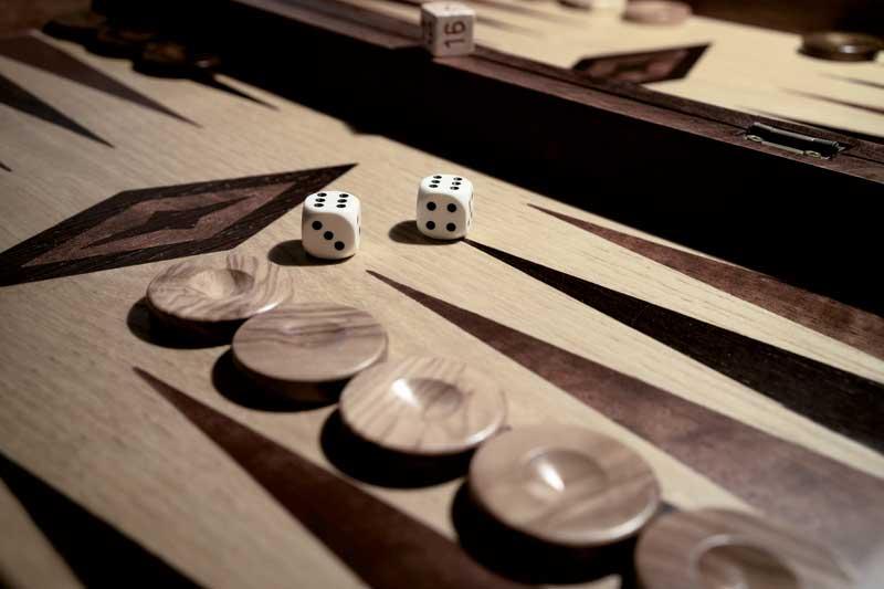 Brettspiele Backgammon